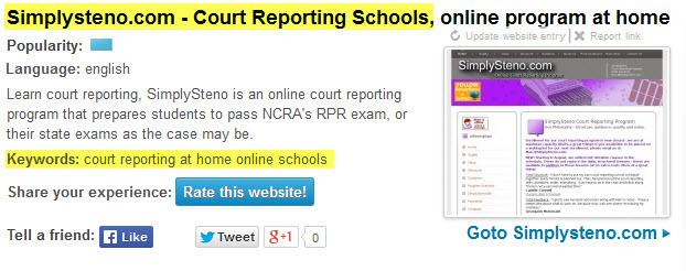 online court reporting schools